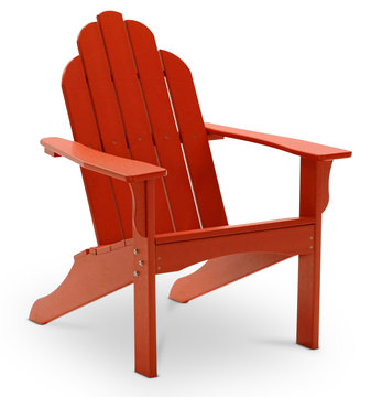 Image Yarmouth Adirondack Chair   Red