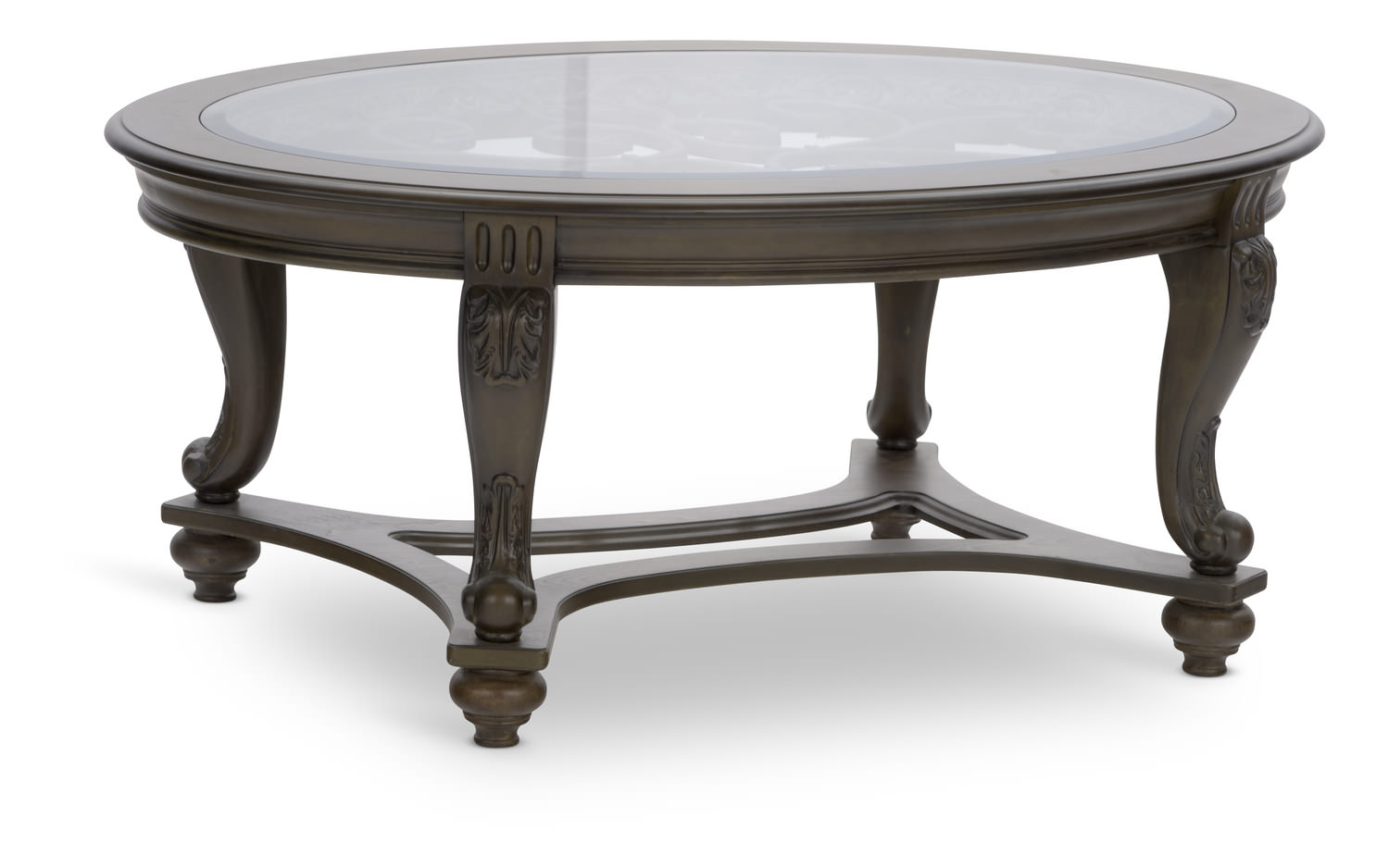 Norcastle Oval Coffee Table Hom Furniture