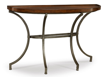 Barrow Round Chairside Table Hom Furniture