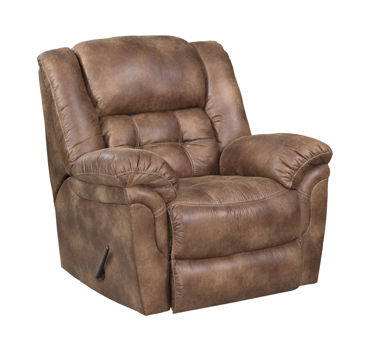 Rocking recliner chairs - Frontier Power Rocker Recliner