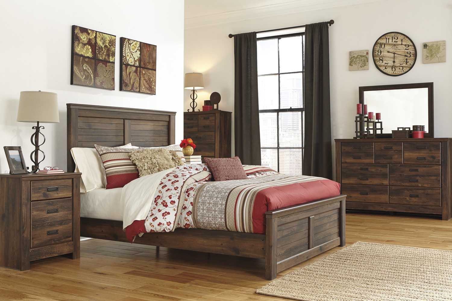 Dakota Panel Bedroom Suite Hom Furniture