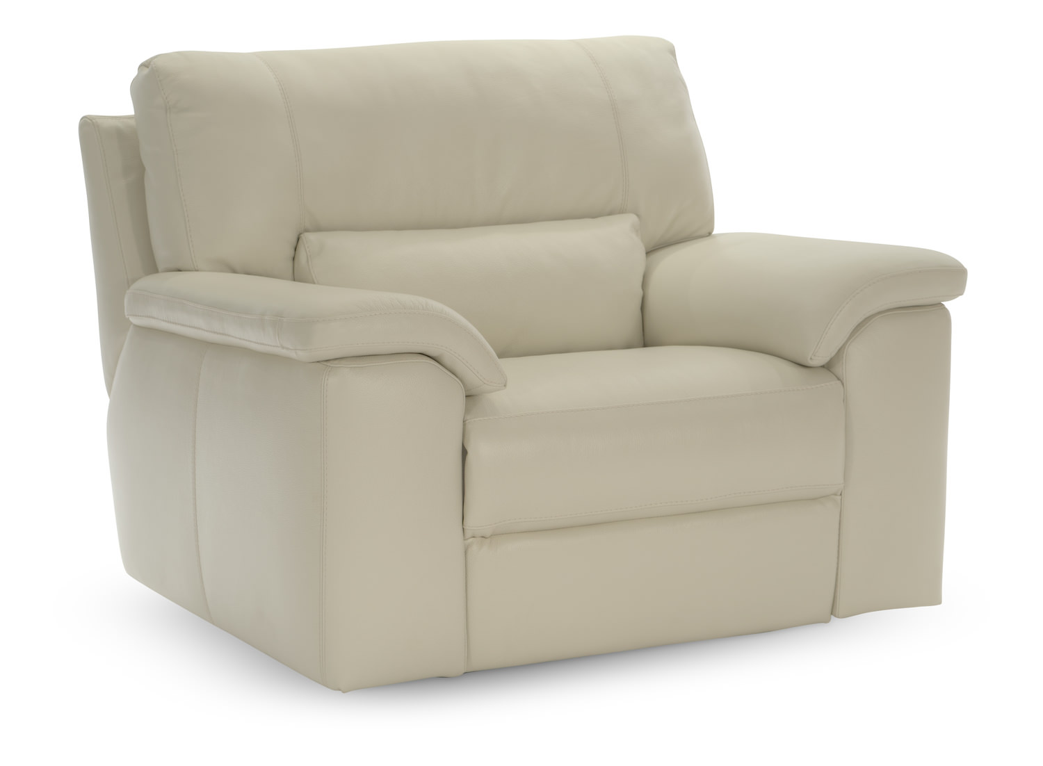Lucerne Dual Power Reclining Chair   Bone ...