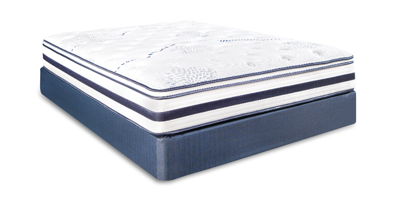 Total Comfort Sophie Euro Top Mattress Set By Total Comfort Dock86
