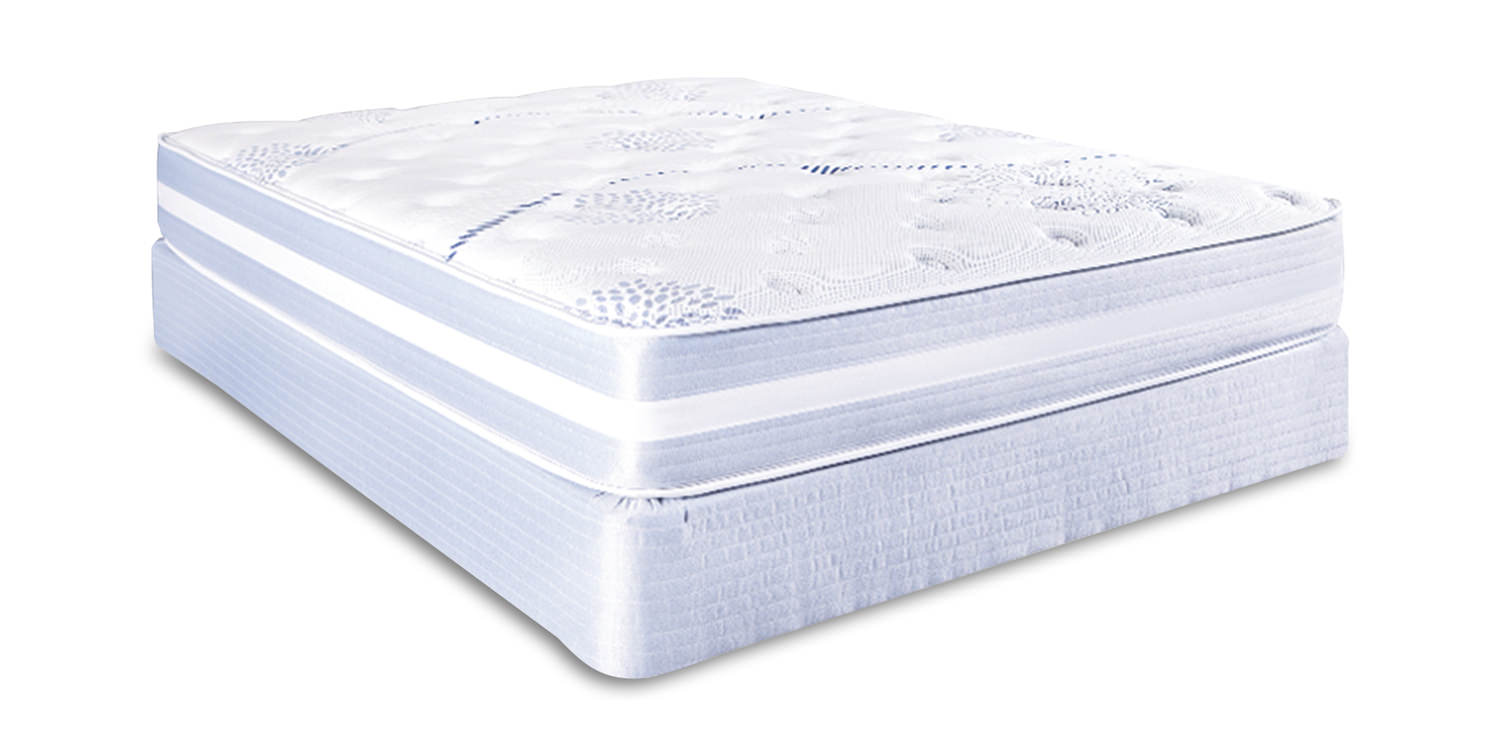 Total Comfort Charlene Plush Mattress Set By Total Comfort Hom Furniture
