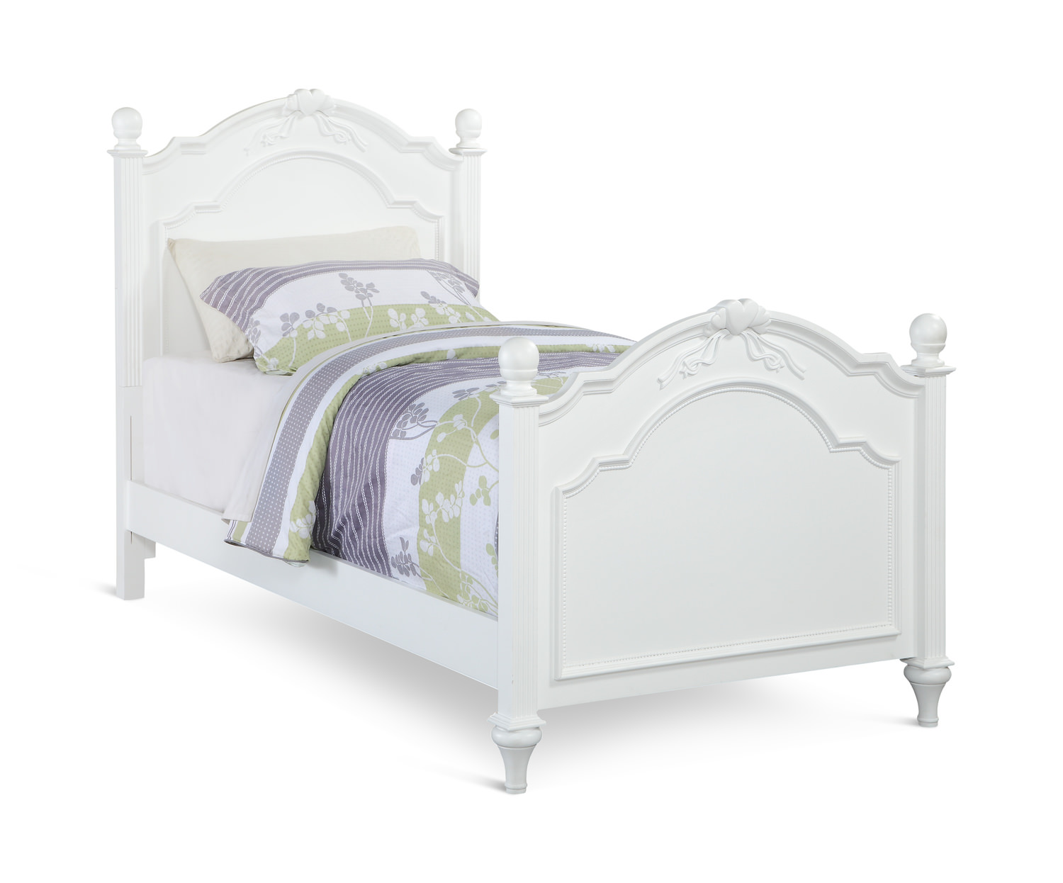 Chantilly Post Bed White By Thomas