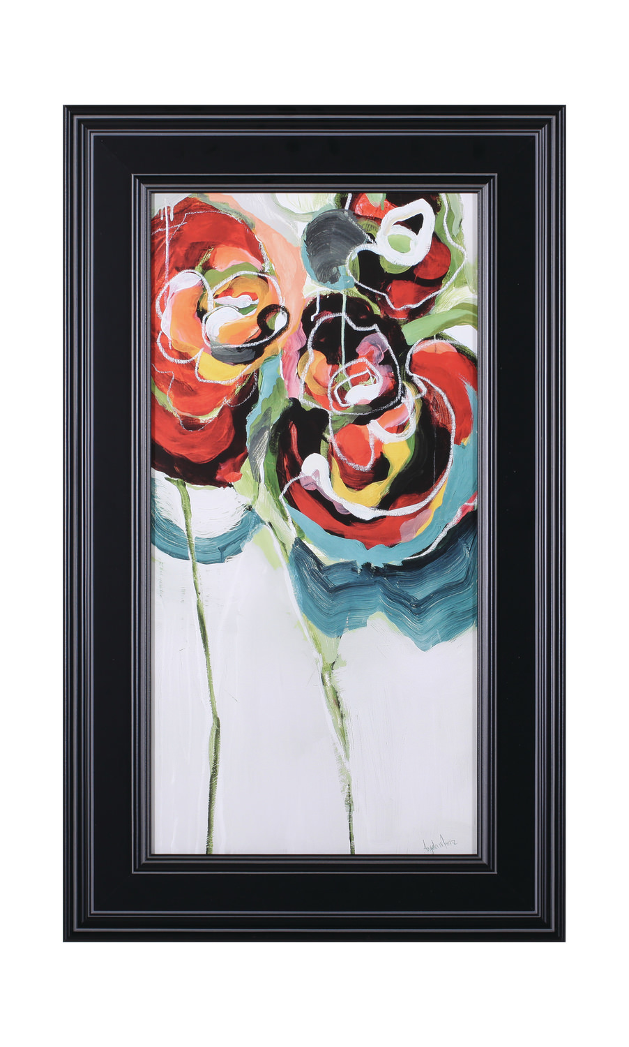 Wasabi Rose I Framed Art Dock86