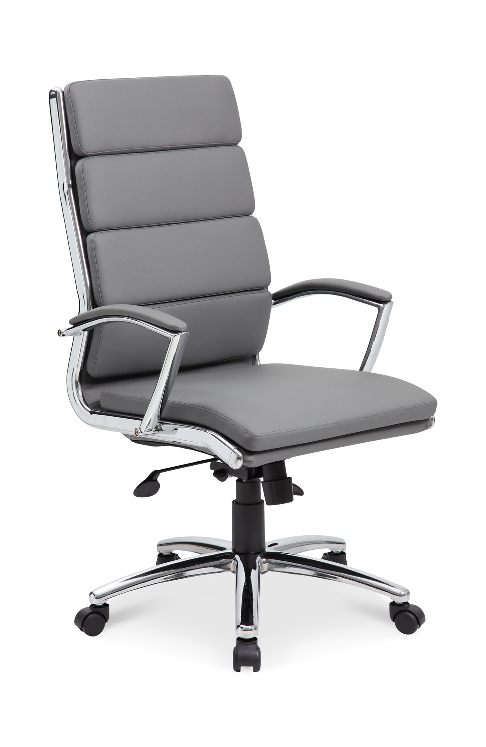 High Back Gray Office chair