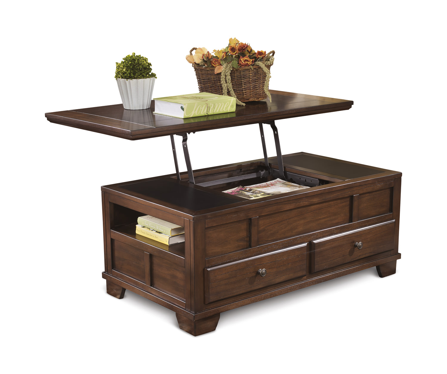 Gately Lift Top Coffee Table Hom Furniture