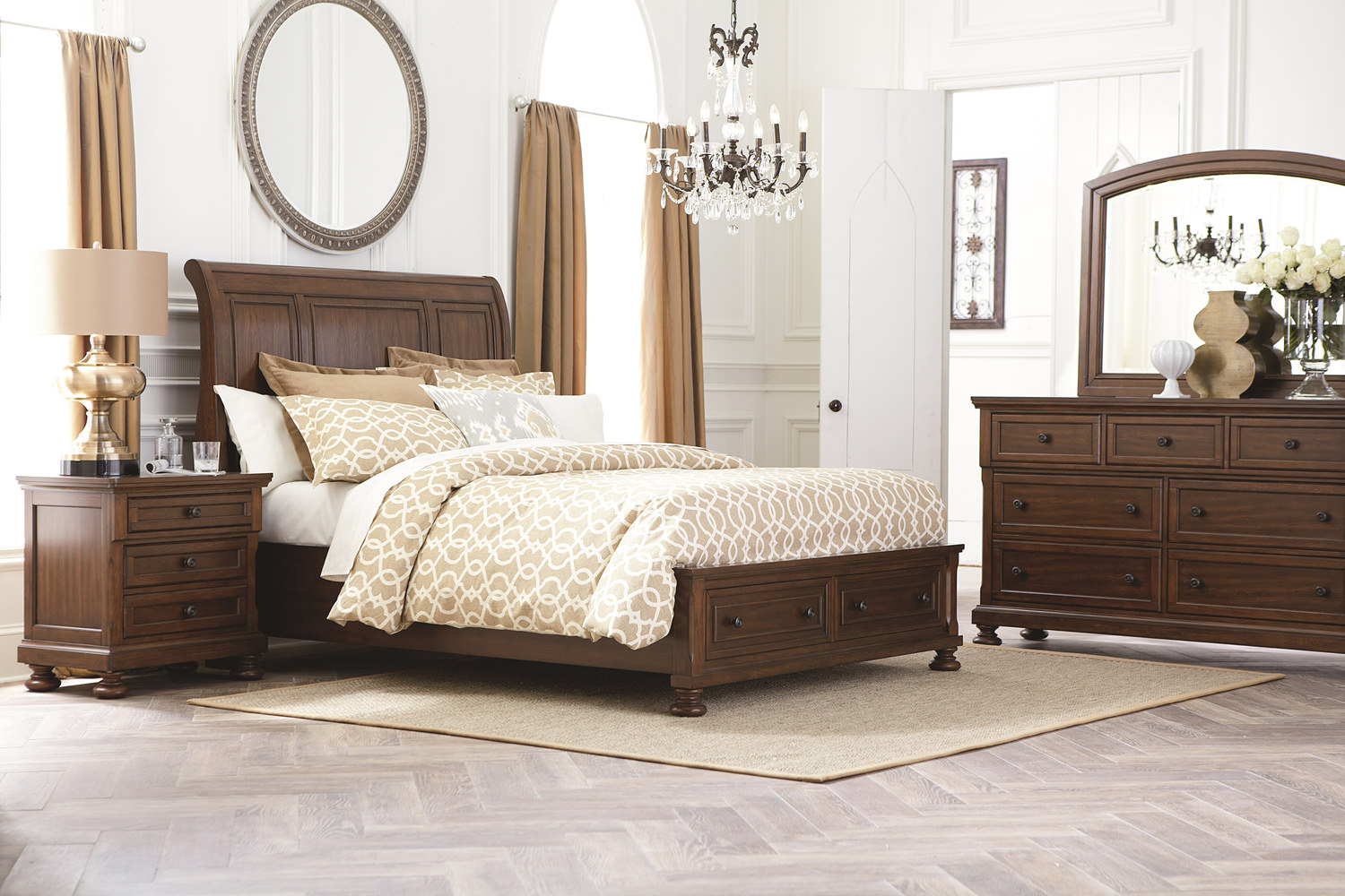 mirfield bedroom suite by thomas cole | hom furniture