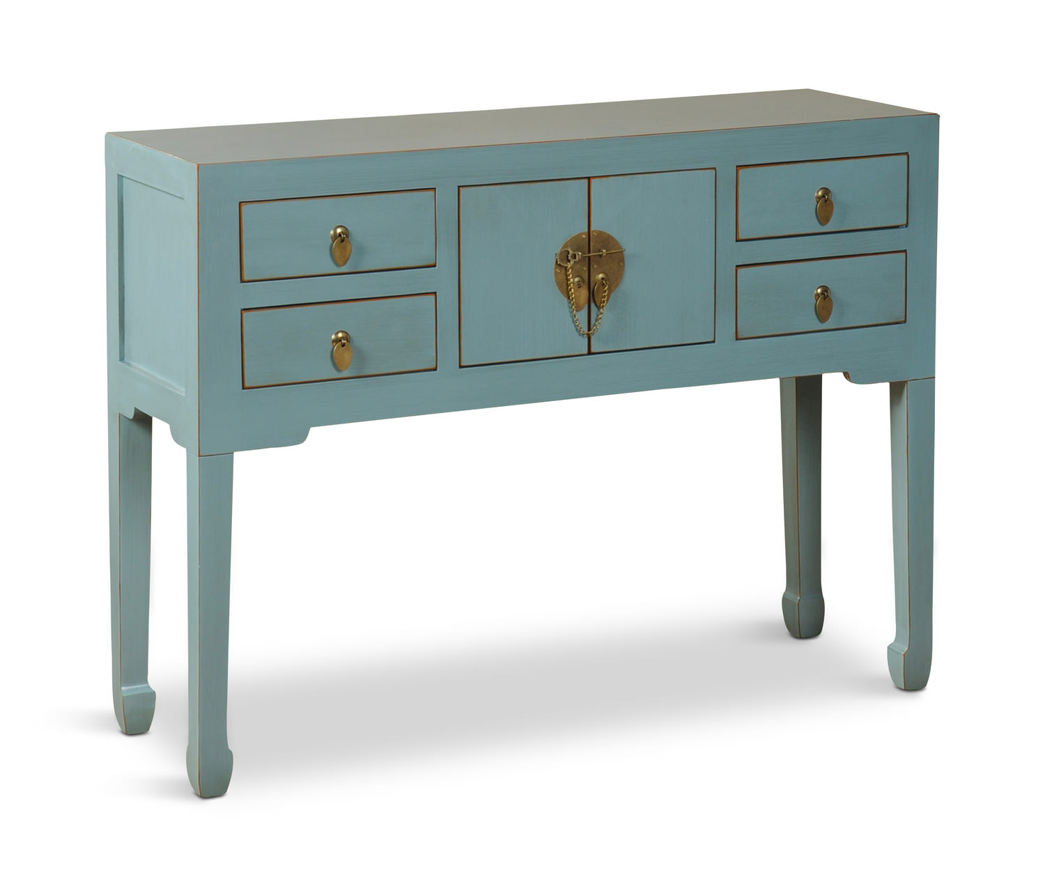 French Blue Console Table ...