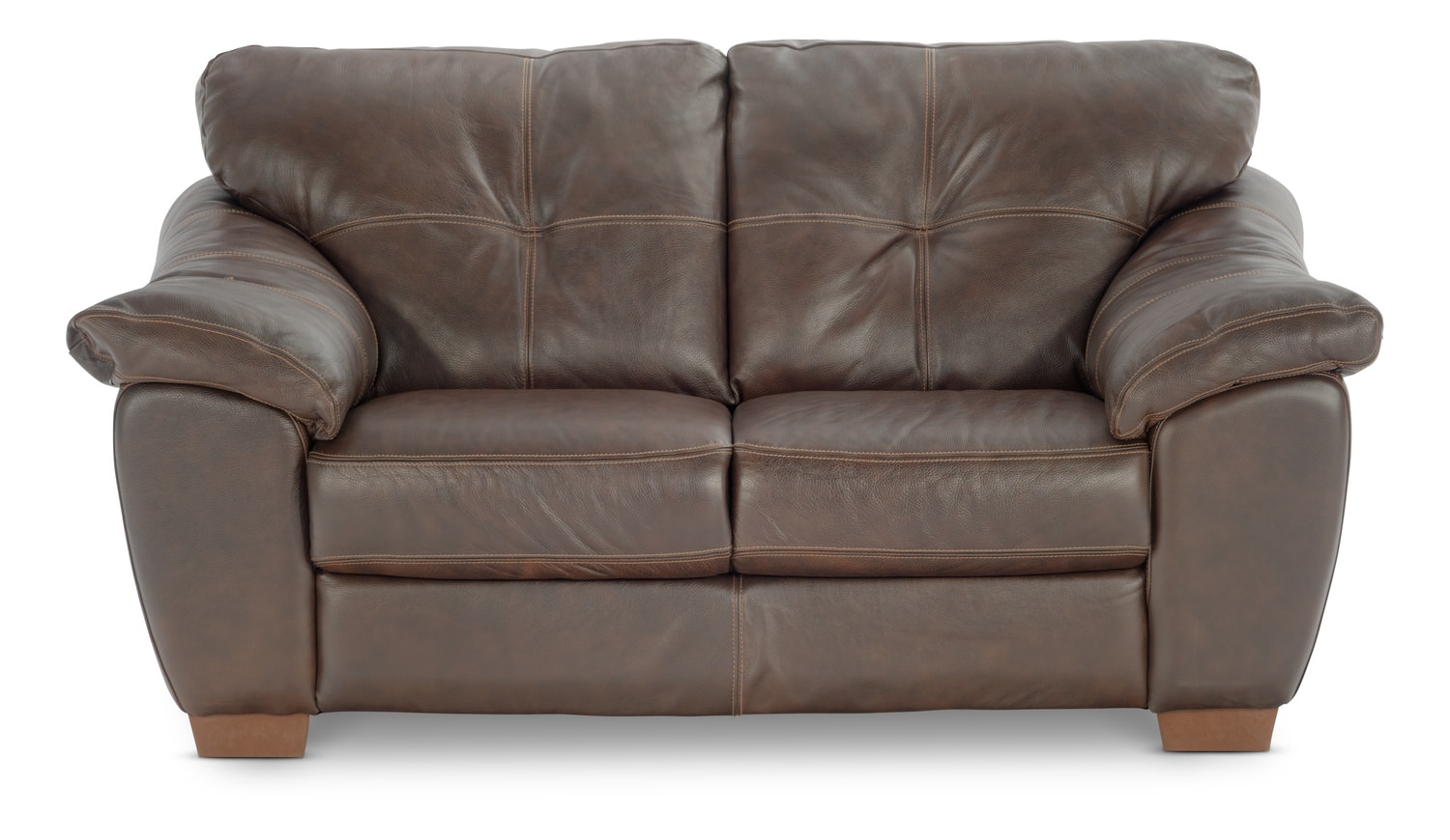 Phoenix Leather Loveseat By Thomas Cole Hom Furniture