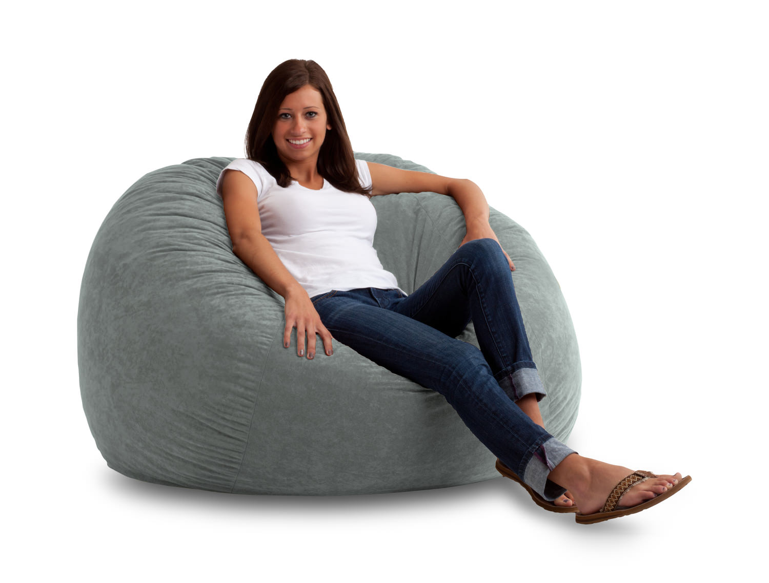 Fuf Foam Filled Bean Bag Chair