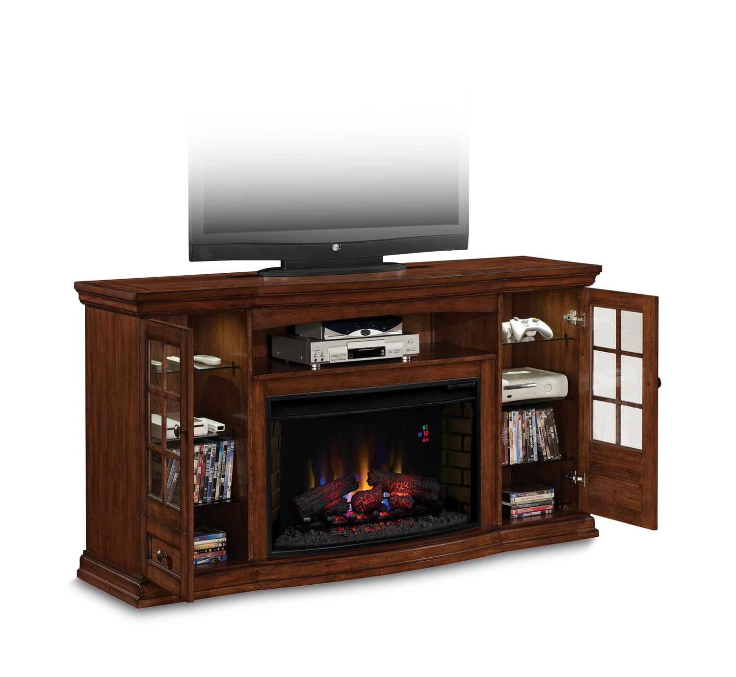 seagate electric fireplace media center hom furniture