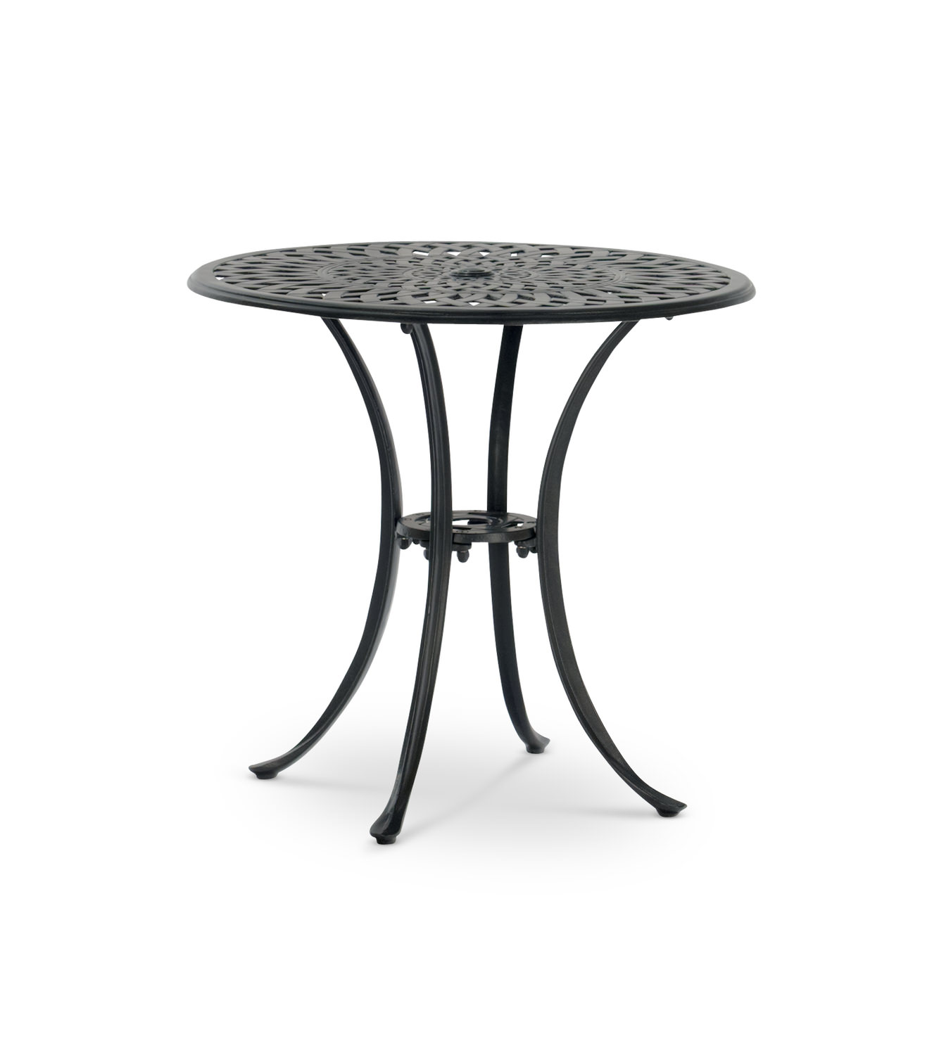 30 Round Bistro Cast Aluminum Table Hom Furniture