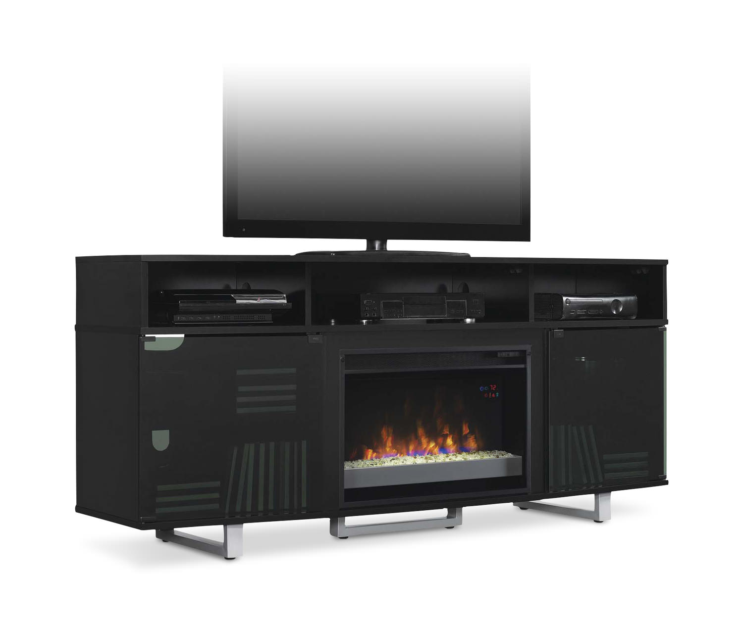 Enterprise Fireplace Media Console ...