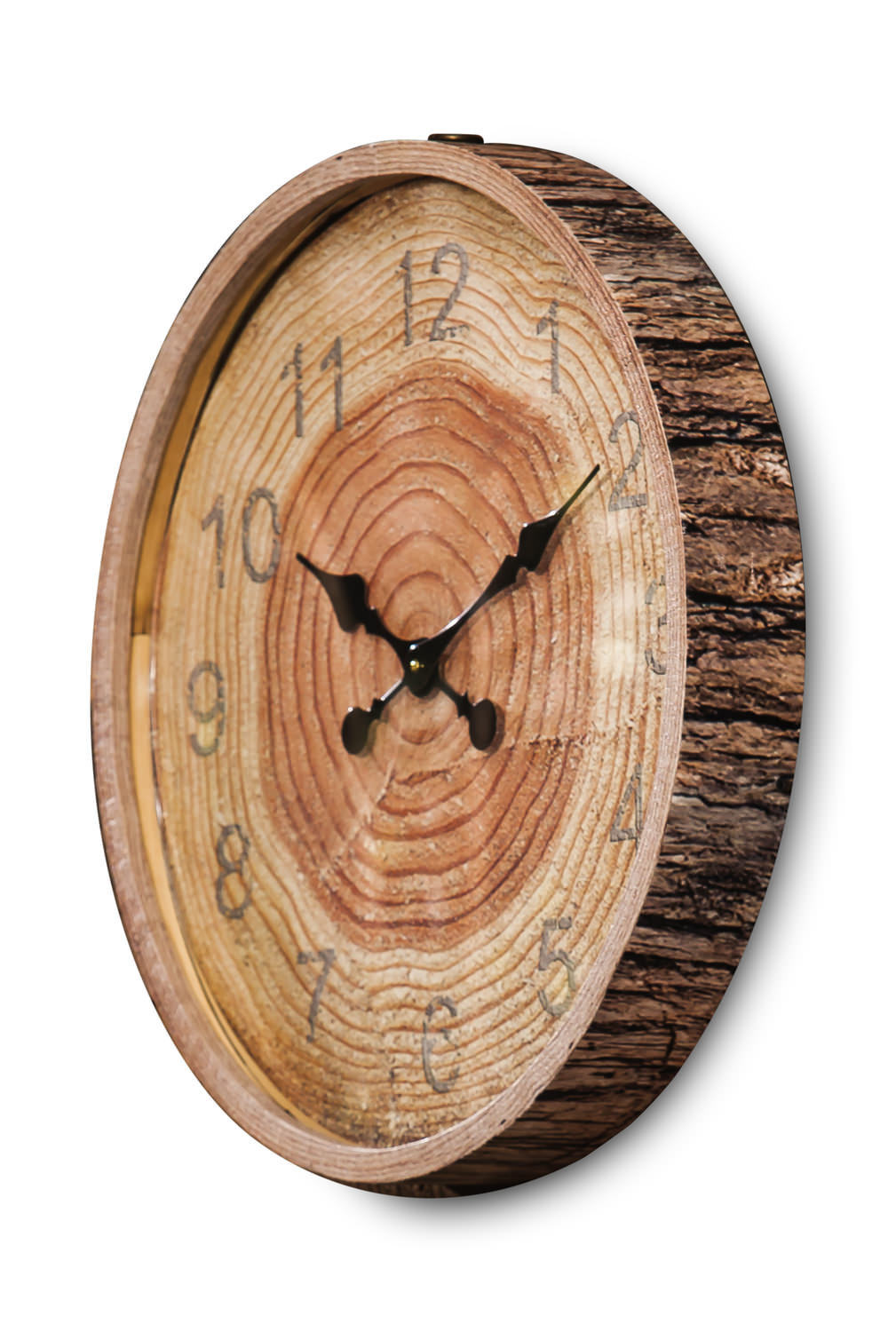 Tree Section Wall Clock Hom Furniture