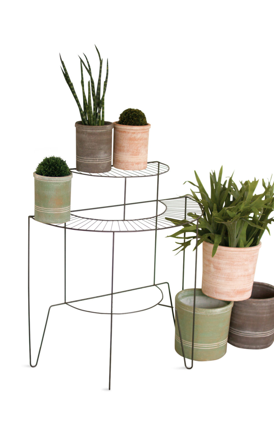 Three Tier Plant Stand Hom Furniture