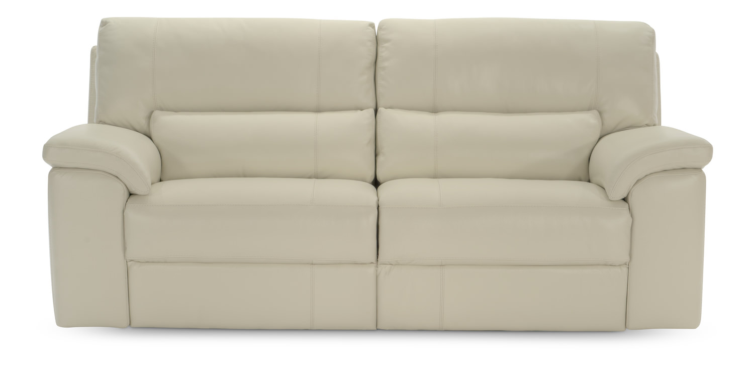 84u2033 Lucerne Leather Power Motion Sofa ...