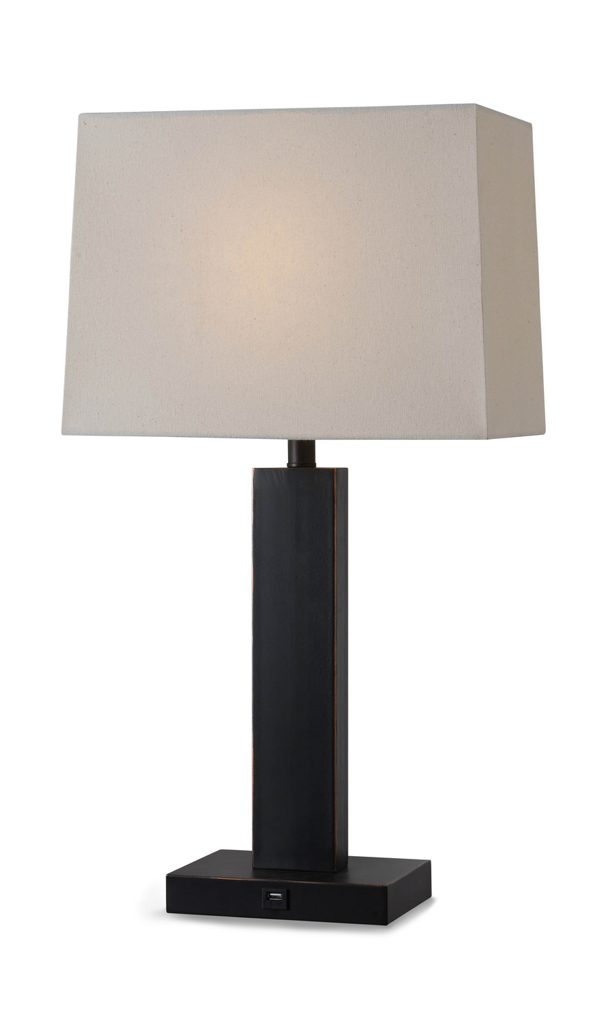 Innkeeper Table Lamp With USB Port
