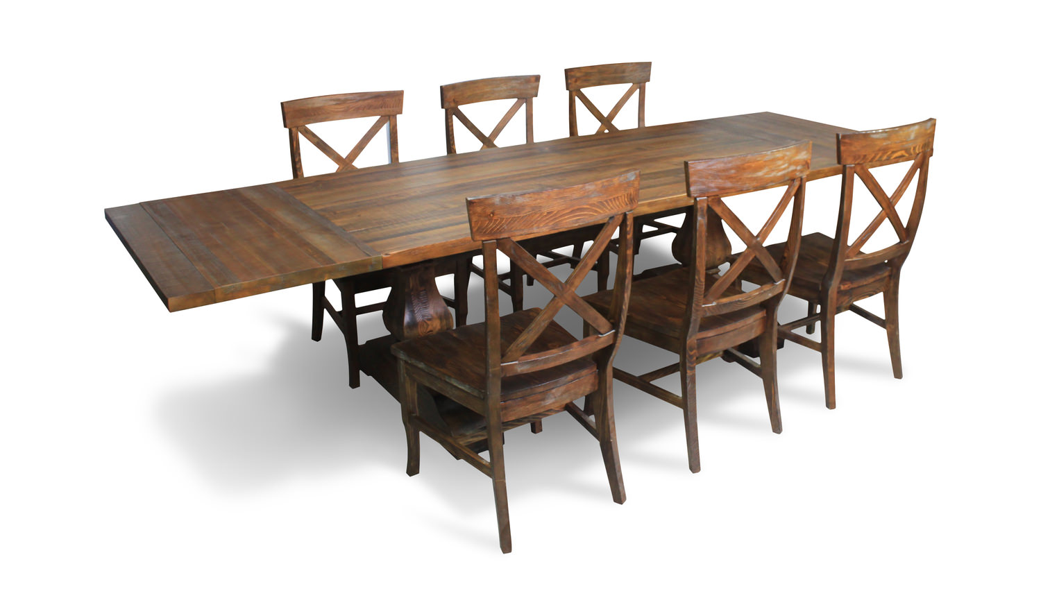 Pineridge Trestle Table With 4 Side Chairs Hom Furniture Furniture Stores In Minneapolis
