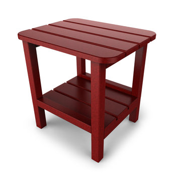 image Adirondack End Table - Red