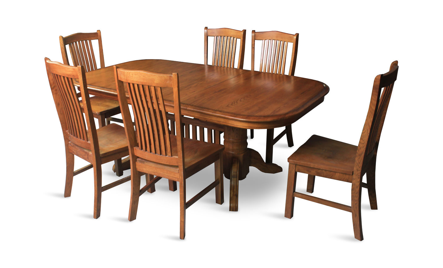 council oak trestle table with 4 noah chairs hom furniture