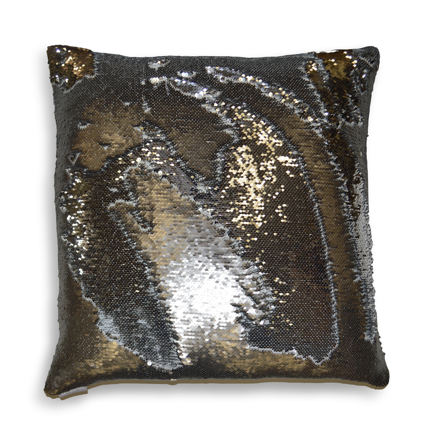 hylee swish color changing pillow pewter - Color Changing Pillow