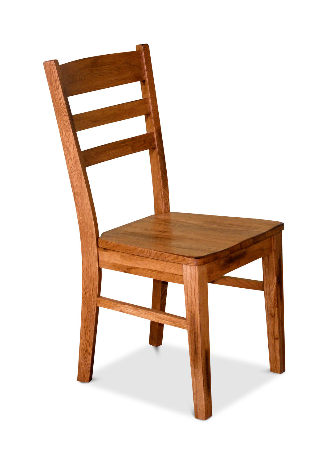 Sedona Oak Ladder Back Side Chair Hom Furniture