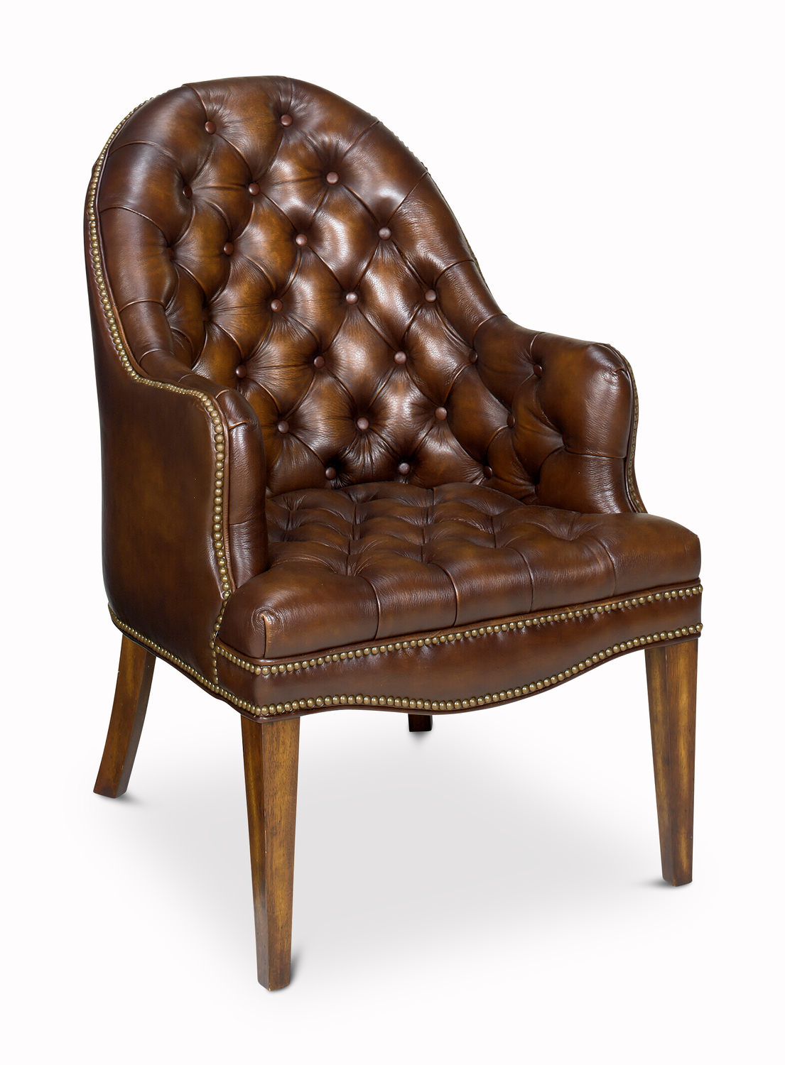 Ordinaire Capitol Leather Guest Chair ...