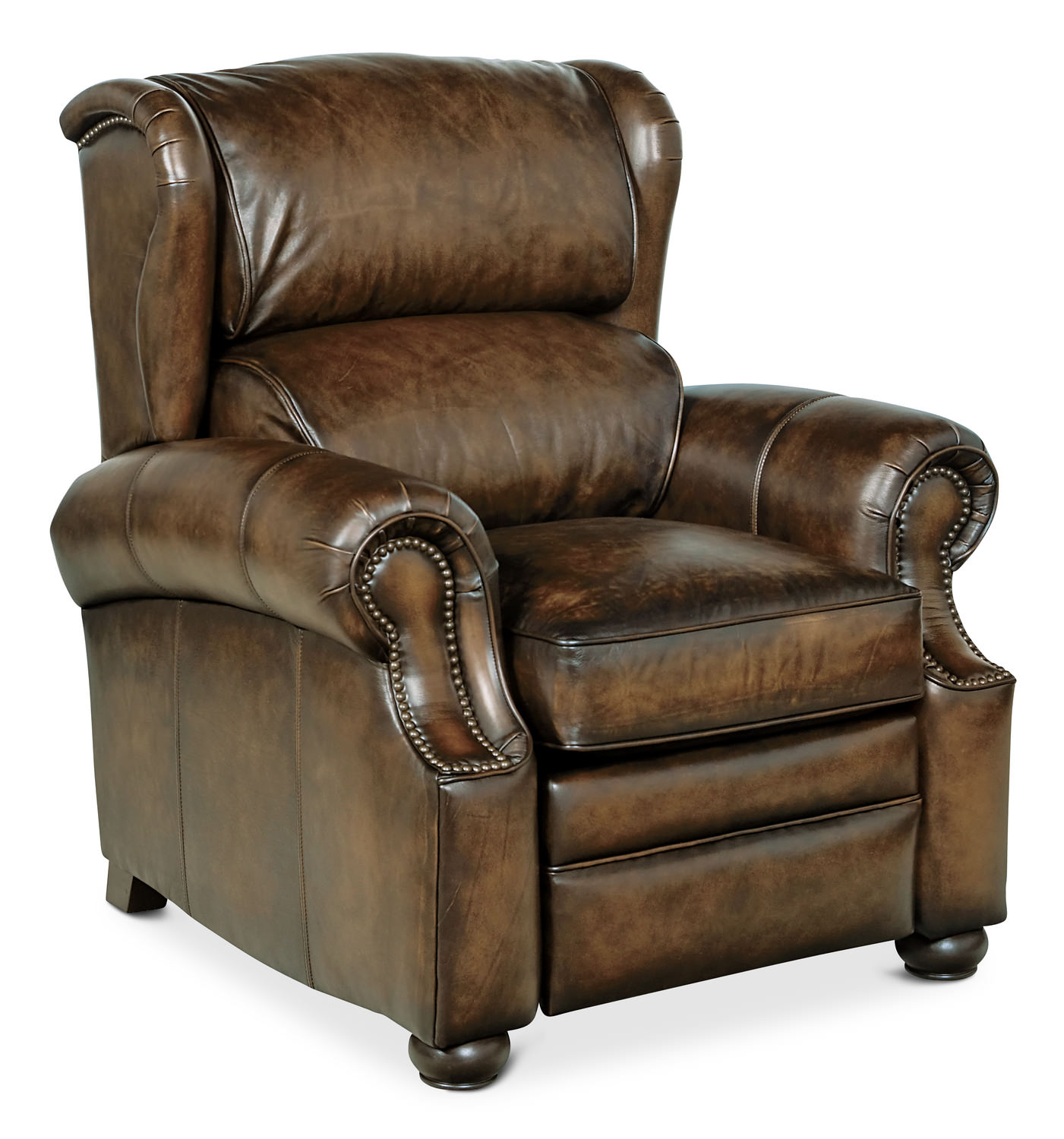 Leather Wingback Recliners Best Attractive Wingback