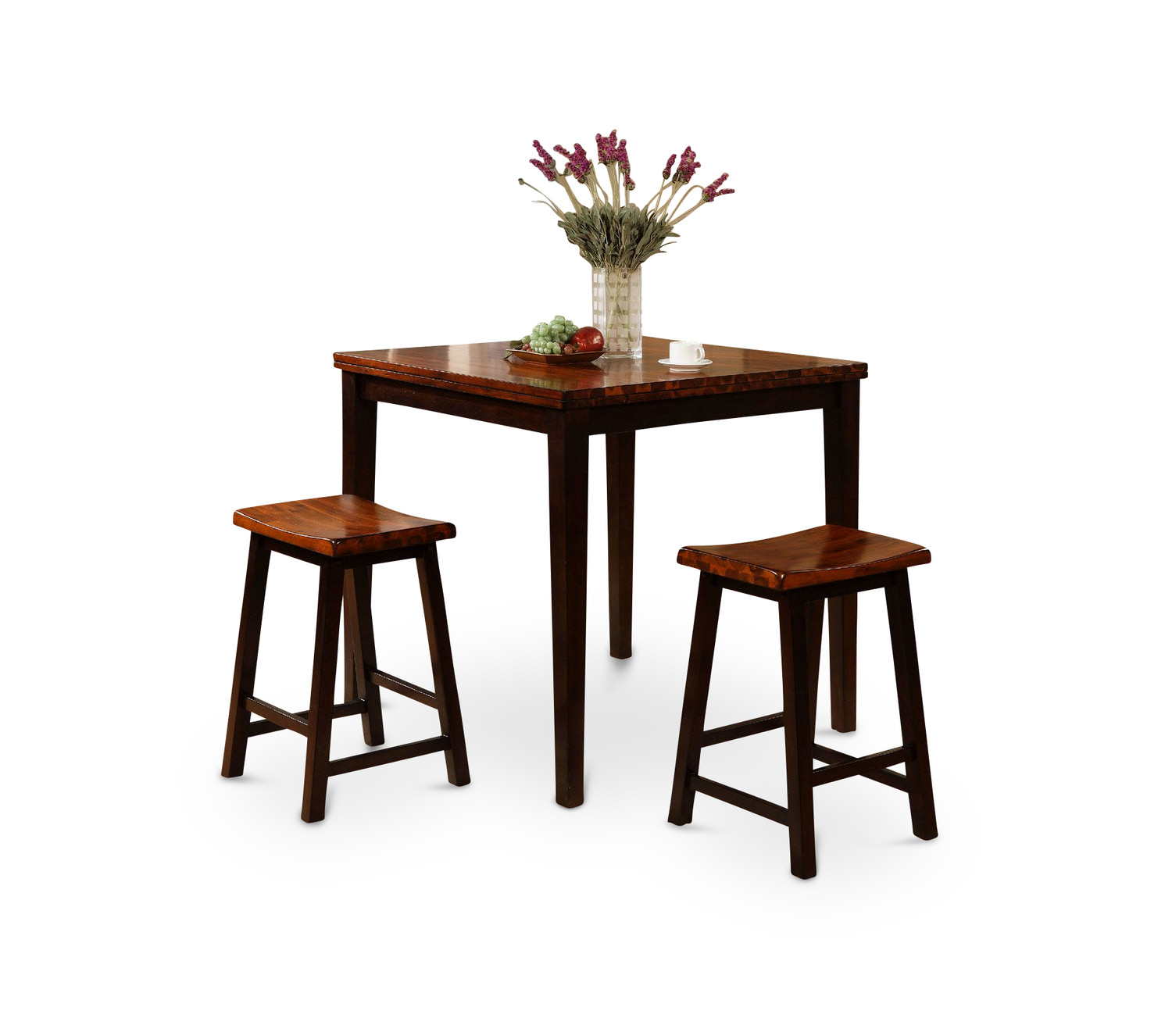 Acacia Table With 2 Stools
