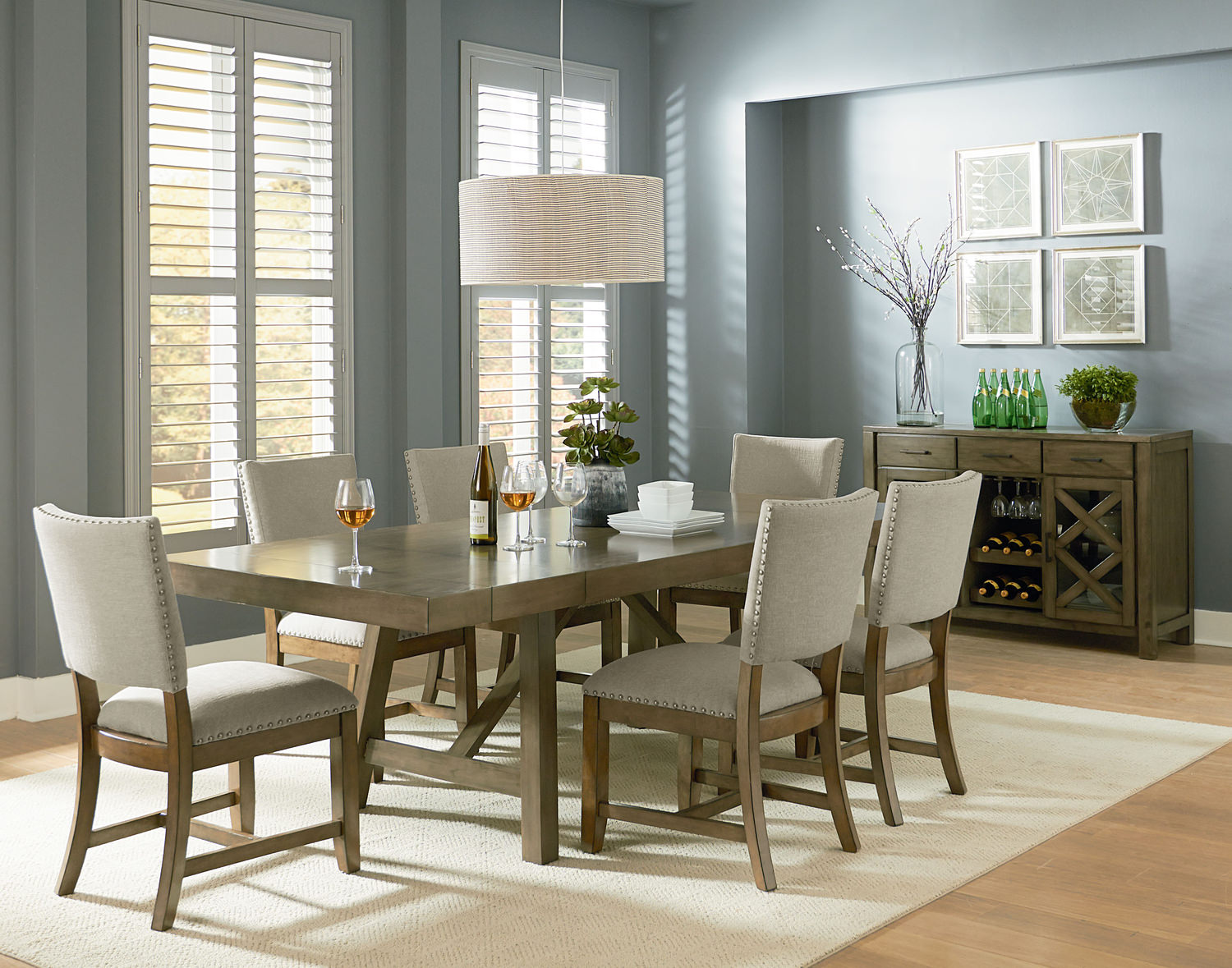 Dining Sets  Kitchen  Dining Room Sets  HOM Furniture - Living room and dining room sets