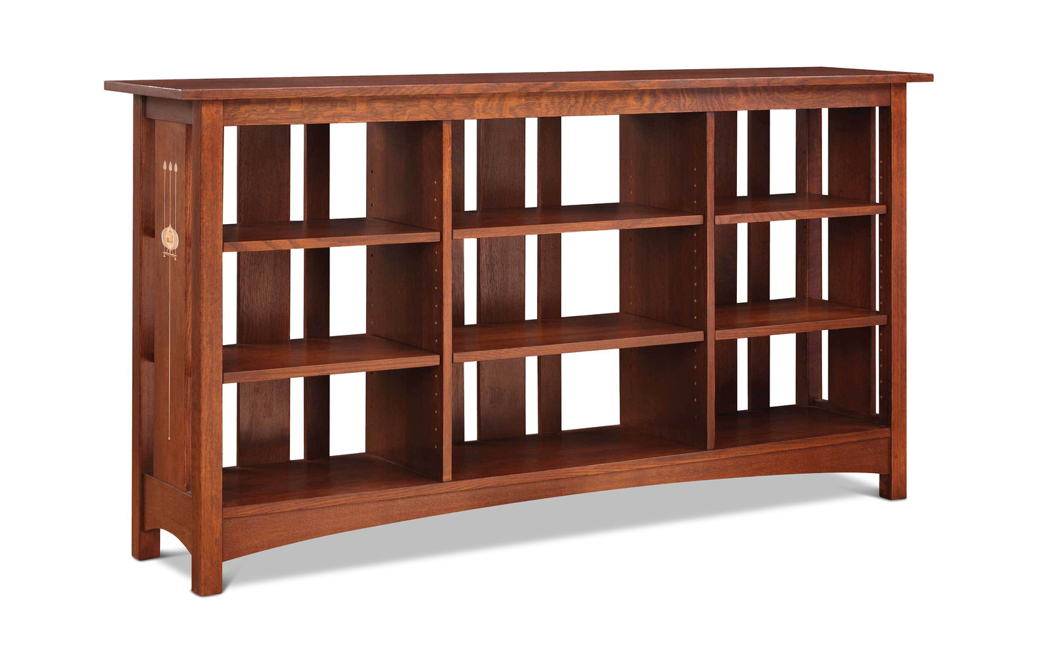 mission slated bookcase by stickley gabberts