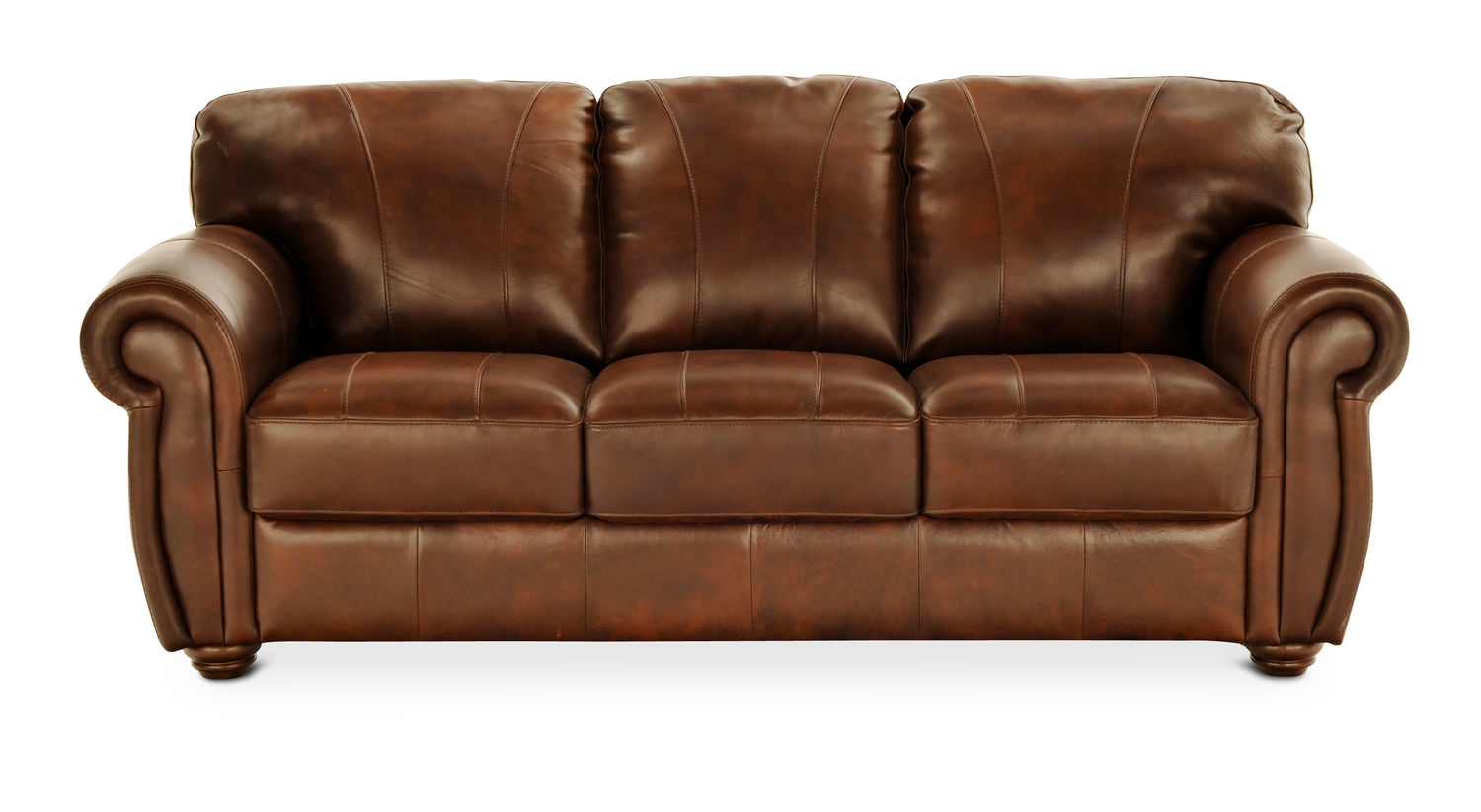 Oscar Leather Sofa HOM Furniture Furniture Stores In