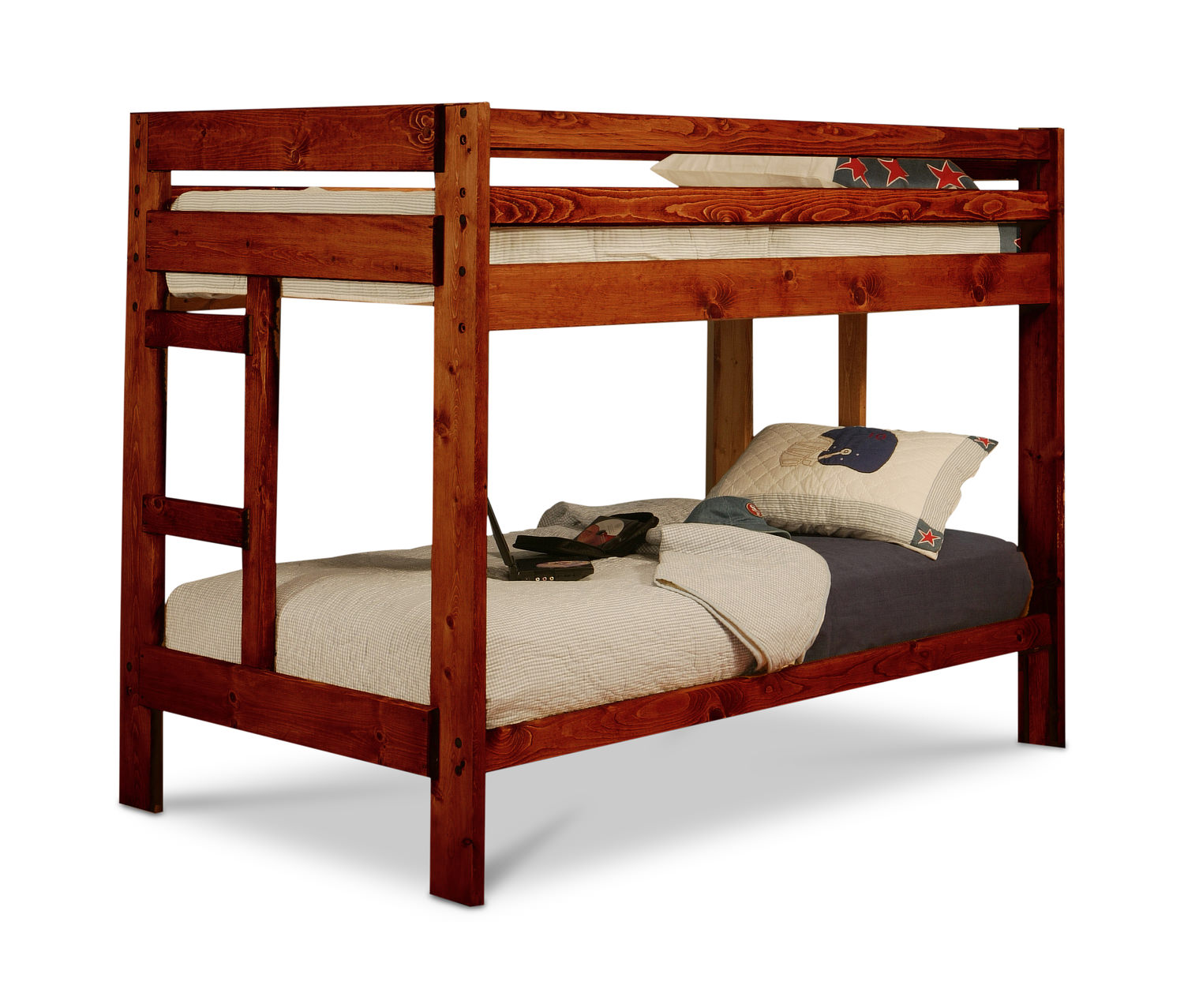 sedona twin over twin bunk bed - Twin Bunk Bed Frame