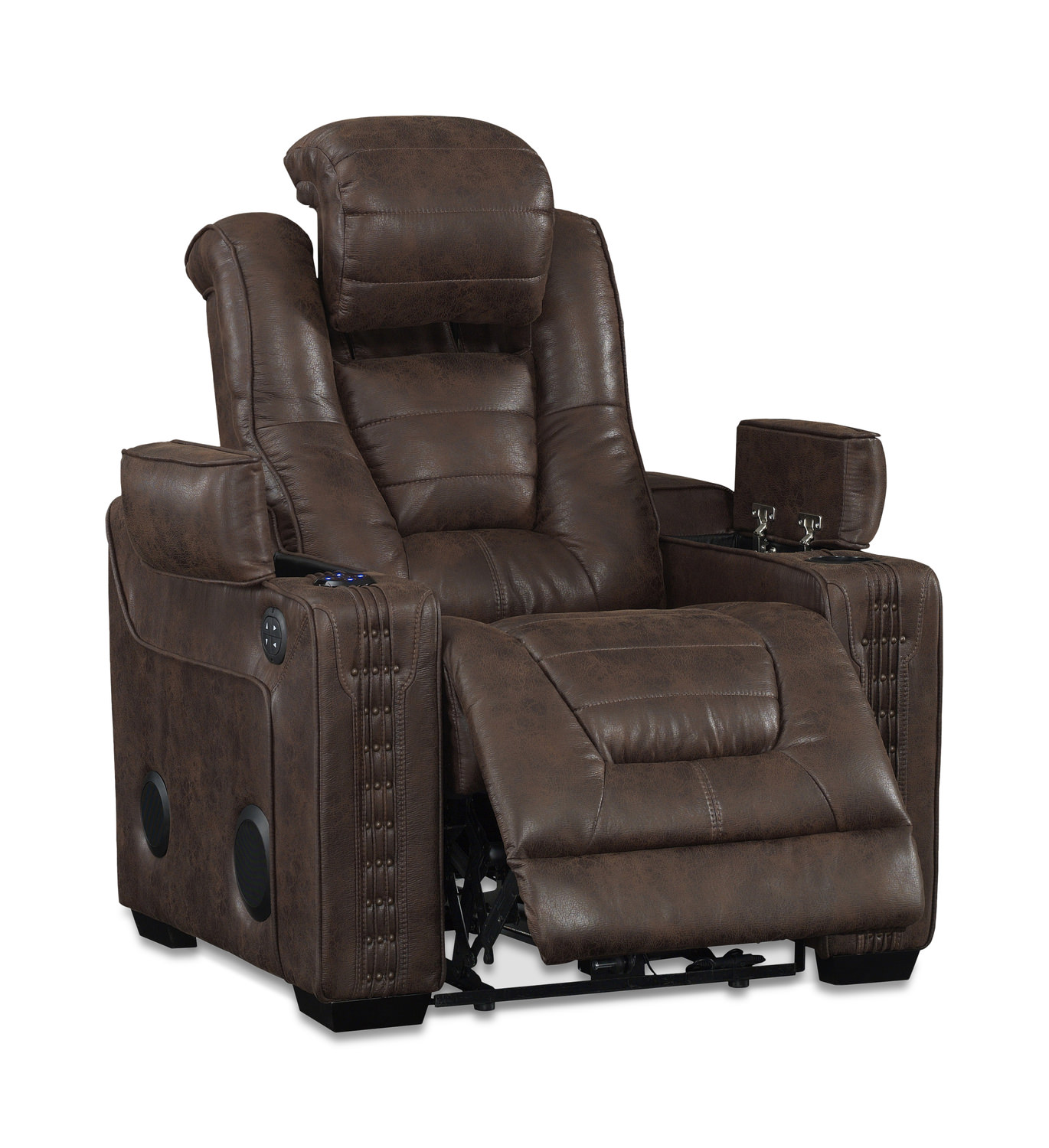 Morph power recliner hom furniture for Chair recliner