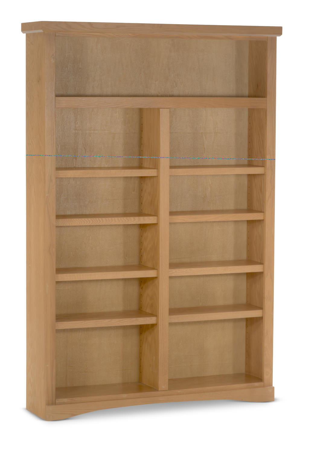 48 Wide Traditional Oak Bookcase By Direct Hom Furniture