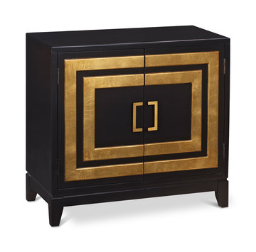 image Contemporary Black Door Chest  sc 1 st  HOM Furniture & Storage Chest and Cabinet Décor u2013 HOM Furniture