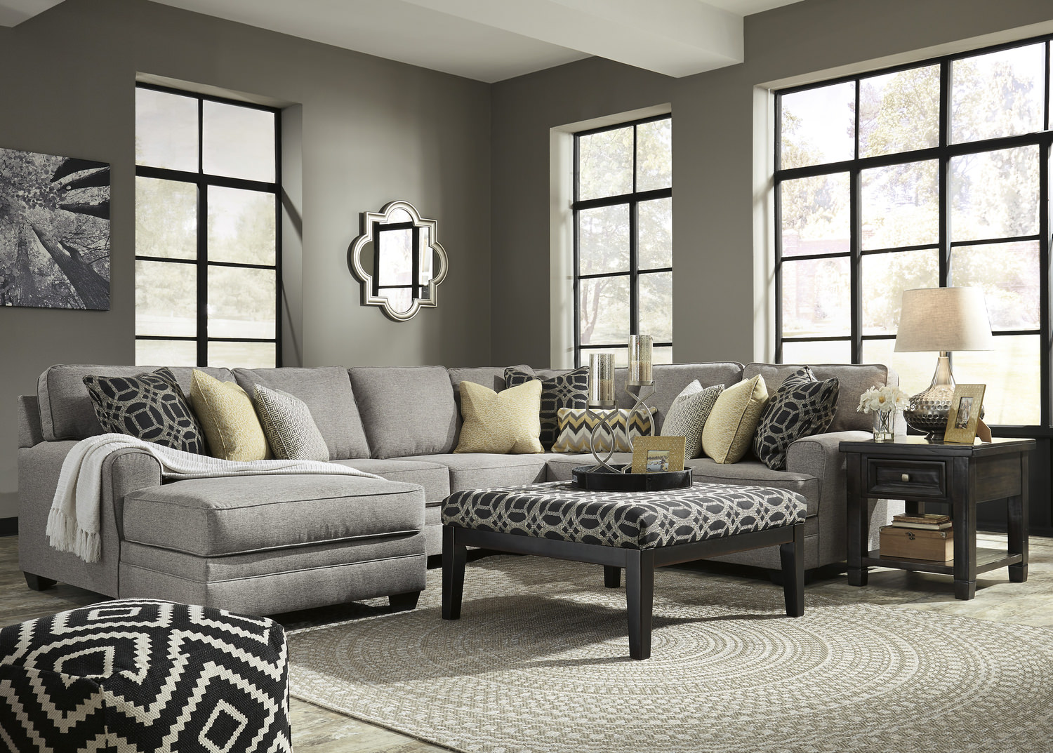 City 4 Piece Sectional. City 4 Piece Sectional   HOM Furniture