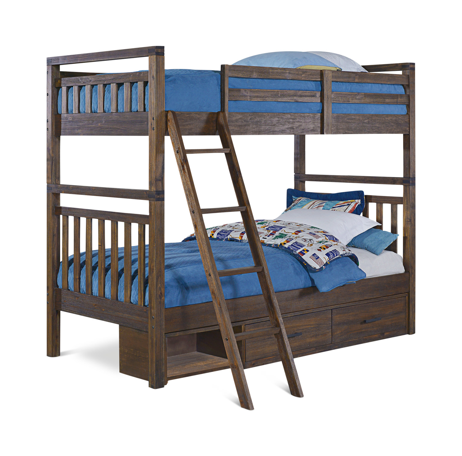 St Croix Twin over Twin Bunk Bed ...