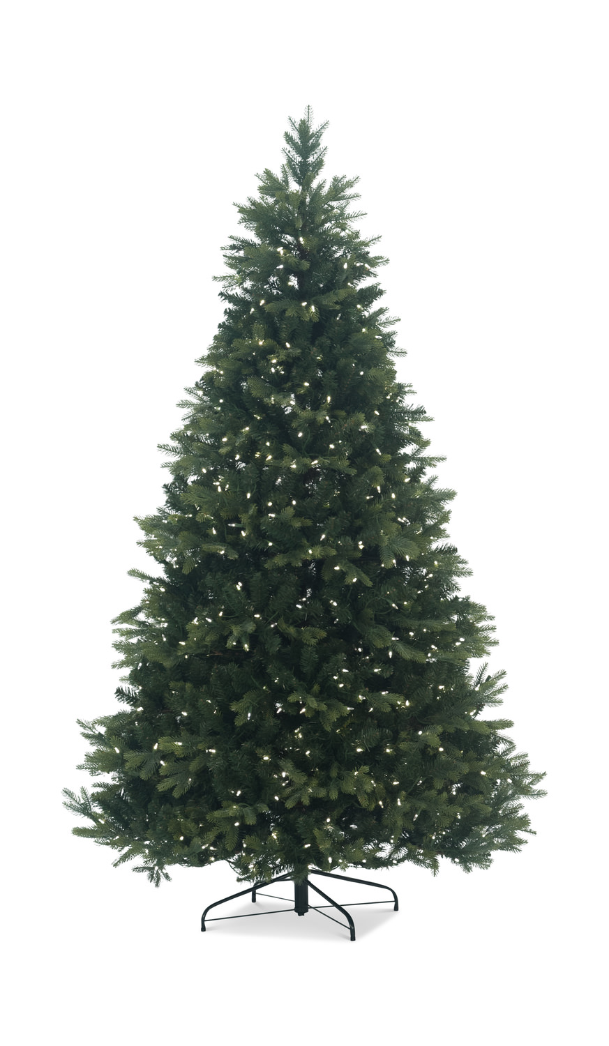 Tacoma Pine 7 5 Pre Lit Artificial Christmas Tree With Warm White Led Lights