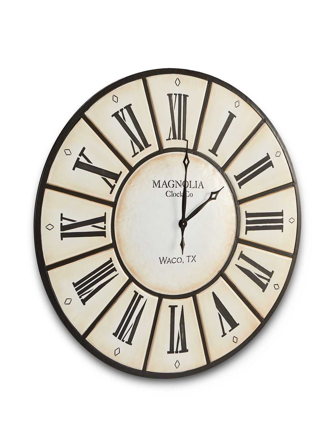 Iron Wall Clock By Magnolia Home By Joanna Hom Furniture