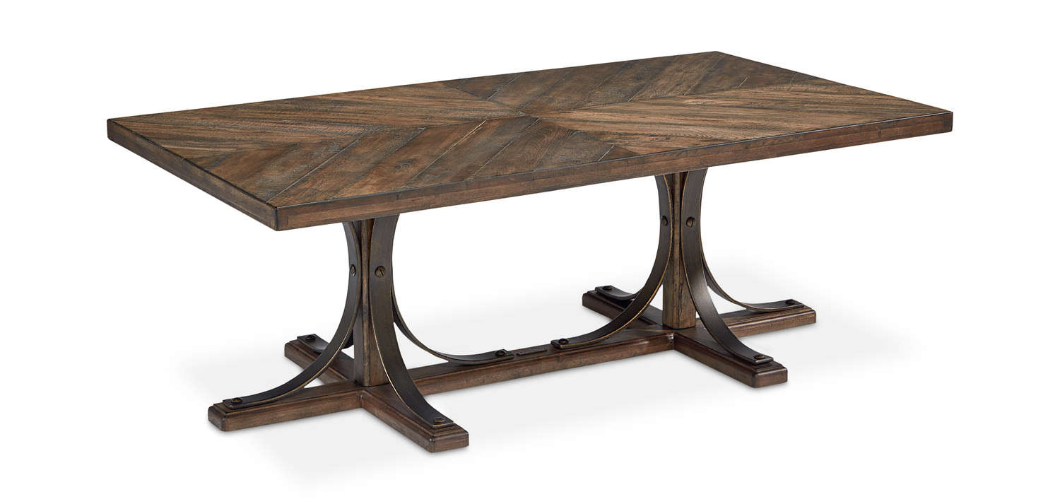 Trestle Coffee Table By Magnolia Home By Joanna Gaines Hom Furniture