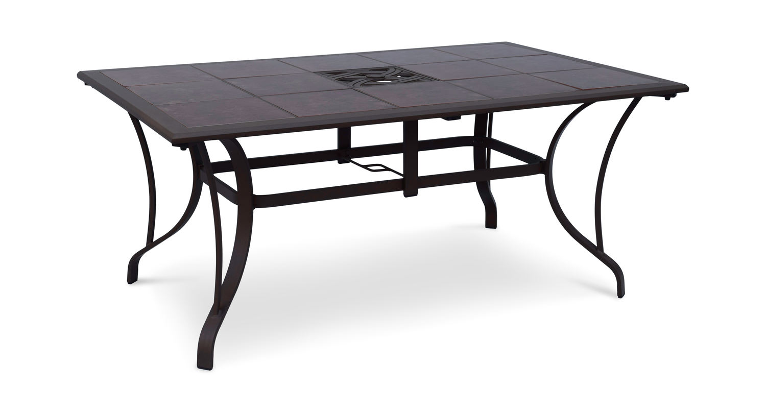 Scottsdale Tile Top Patio Table