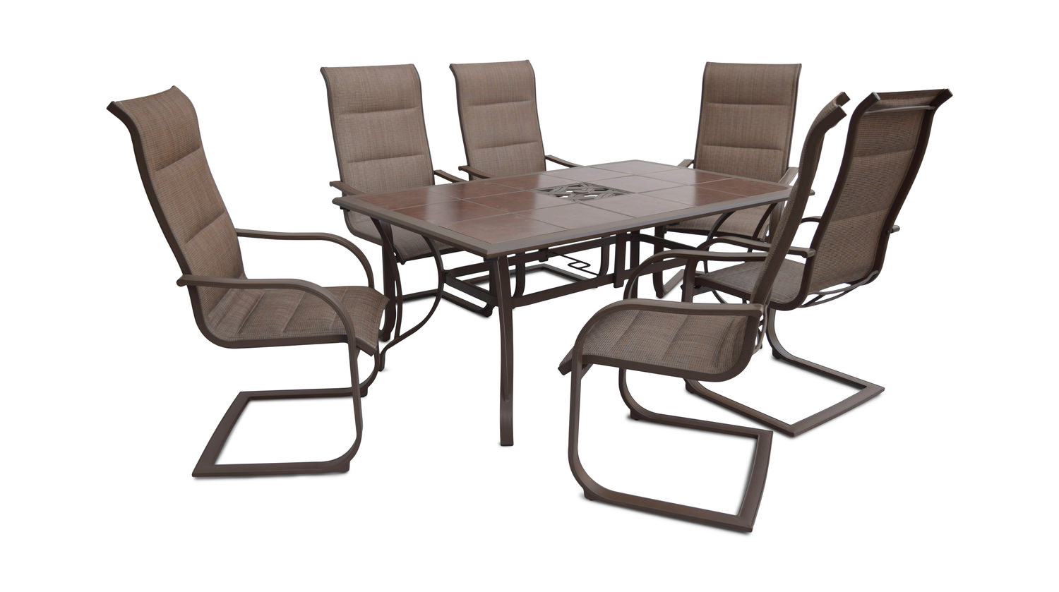 Scottsdale 7 Piece Patio Dining Set By Cole Hom Furniture
