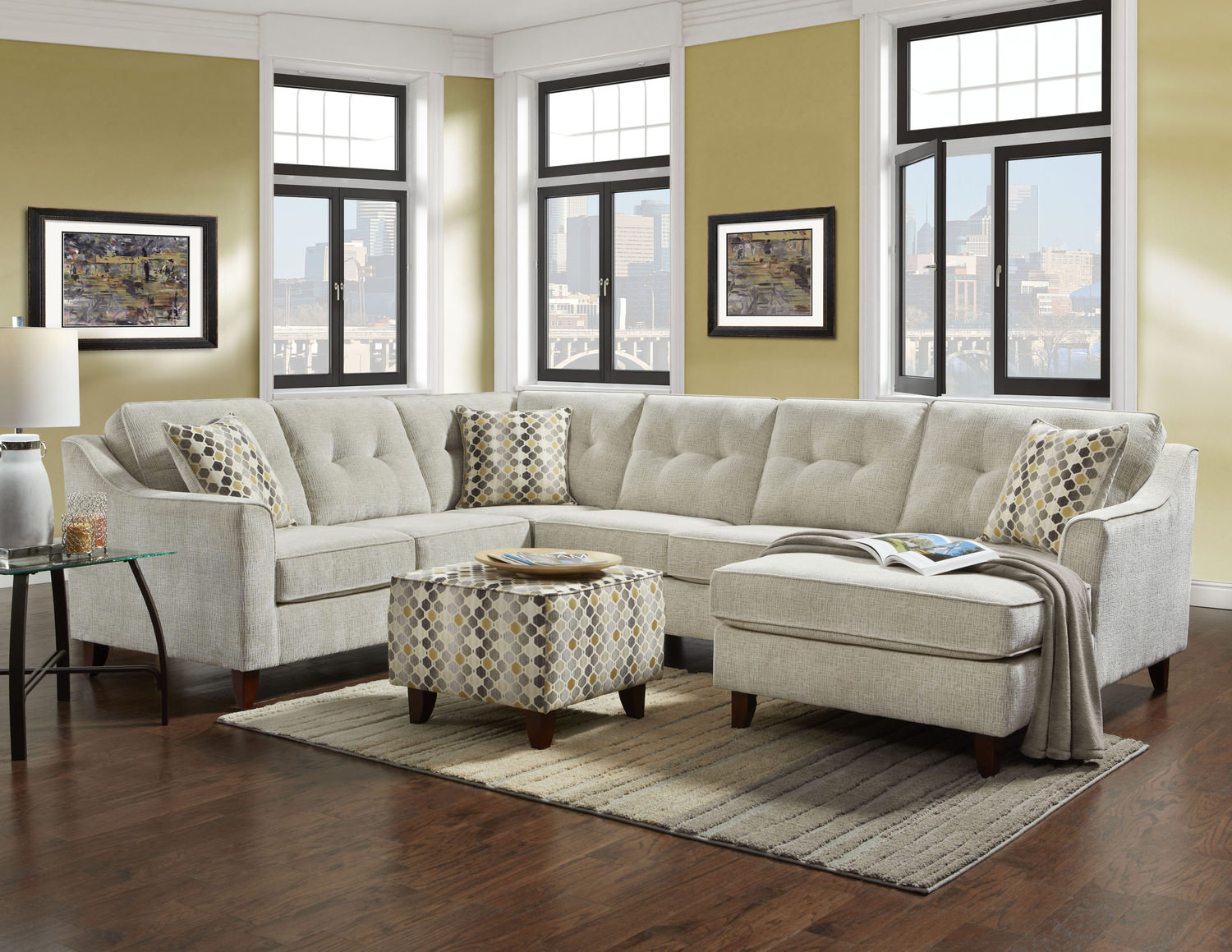 Beau Colby 3 Piece Sectional ...