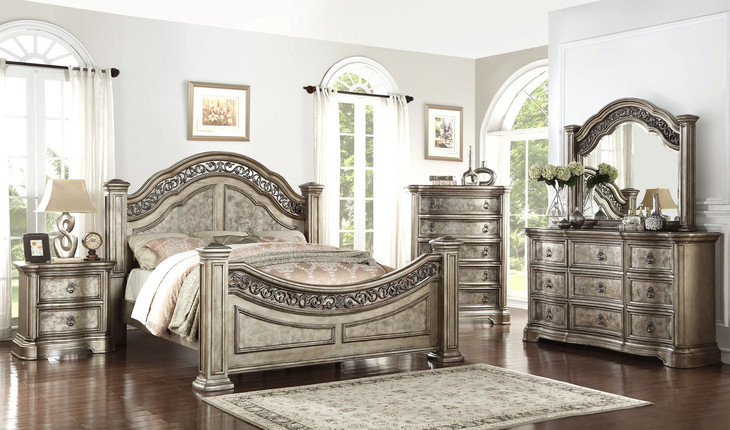 Valencia Queen 4 Pc Bedroom Set ...
