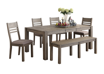 Image Mackenzie Table With 4 Chairs And Bench