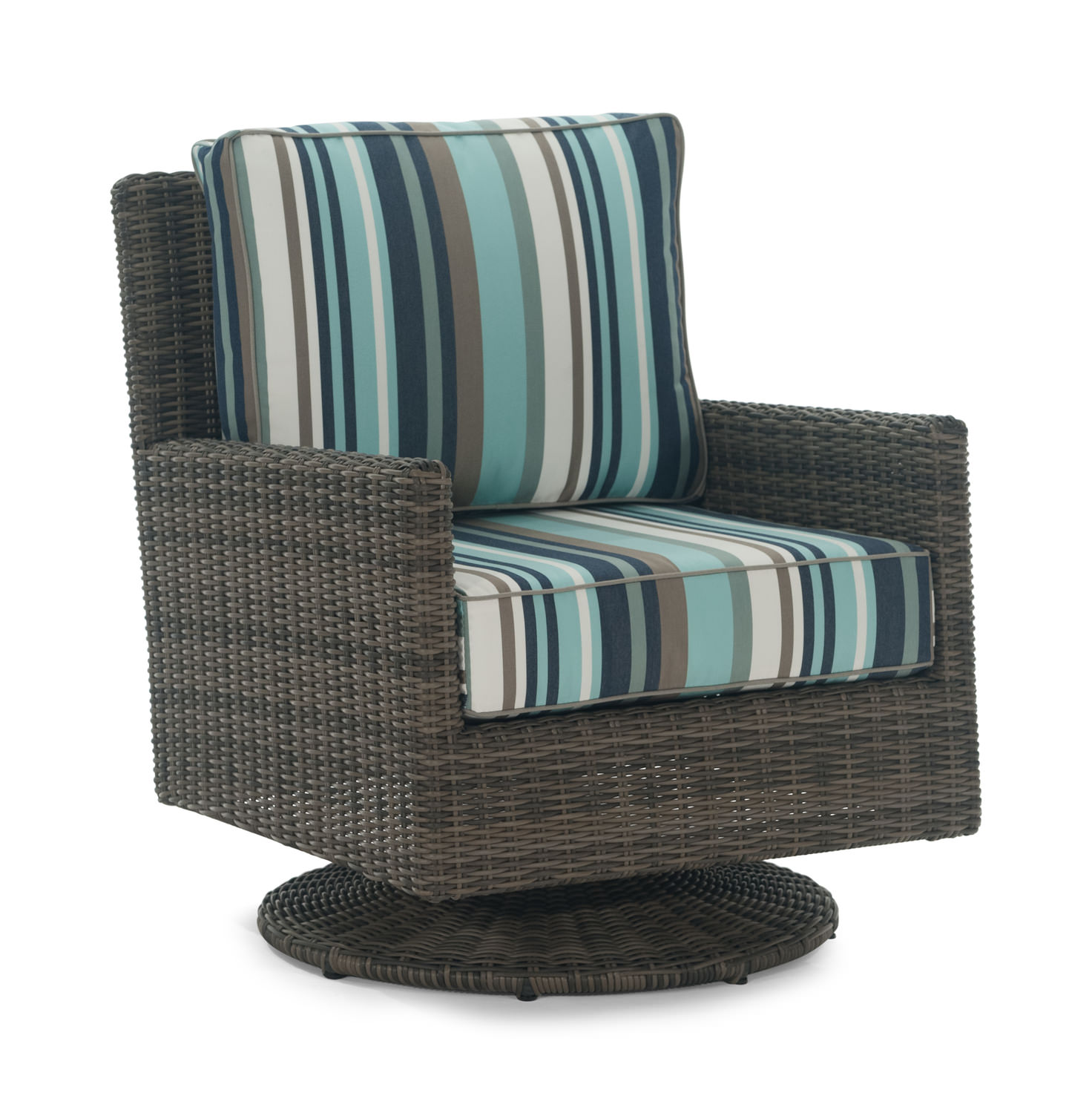 Brentwood Swivel Glider Wicker by North Cape International