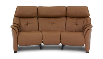 Image Chester Leather Triple Reclining Sofa